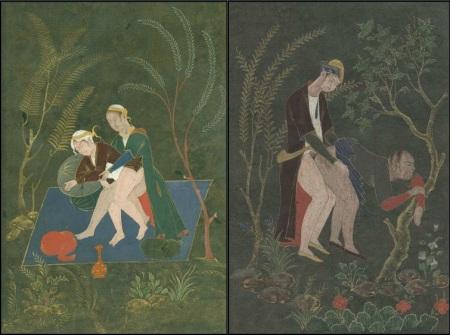 Qajar or Safavid homosexuals - 1660-1720